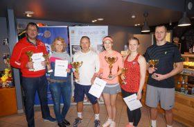 Noslēdzies 3. Rotary labdarības tenisa turnīrs